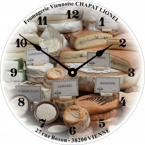 Horloge CHAPAT Lionnel Fromager Vienne
