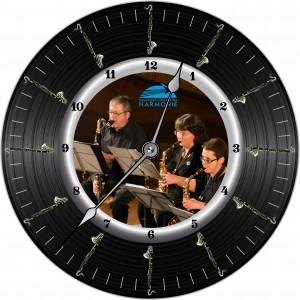 Horloge Harmonie Clarinette Basse