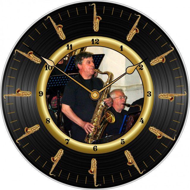 Horloge Lulu Sax Ténors Ø 290 mm