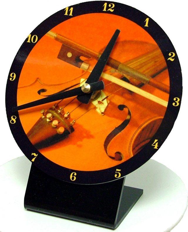 Horloge bureau Violon 1