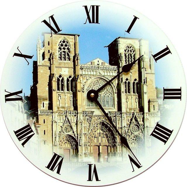 Horloge Cathédrale de Vienne