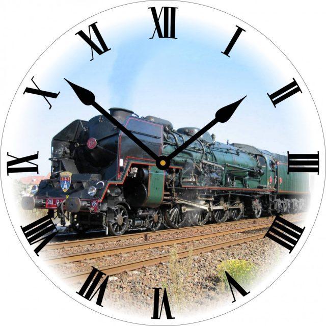 Horloge train à vapeur 241R