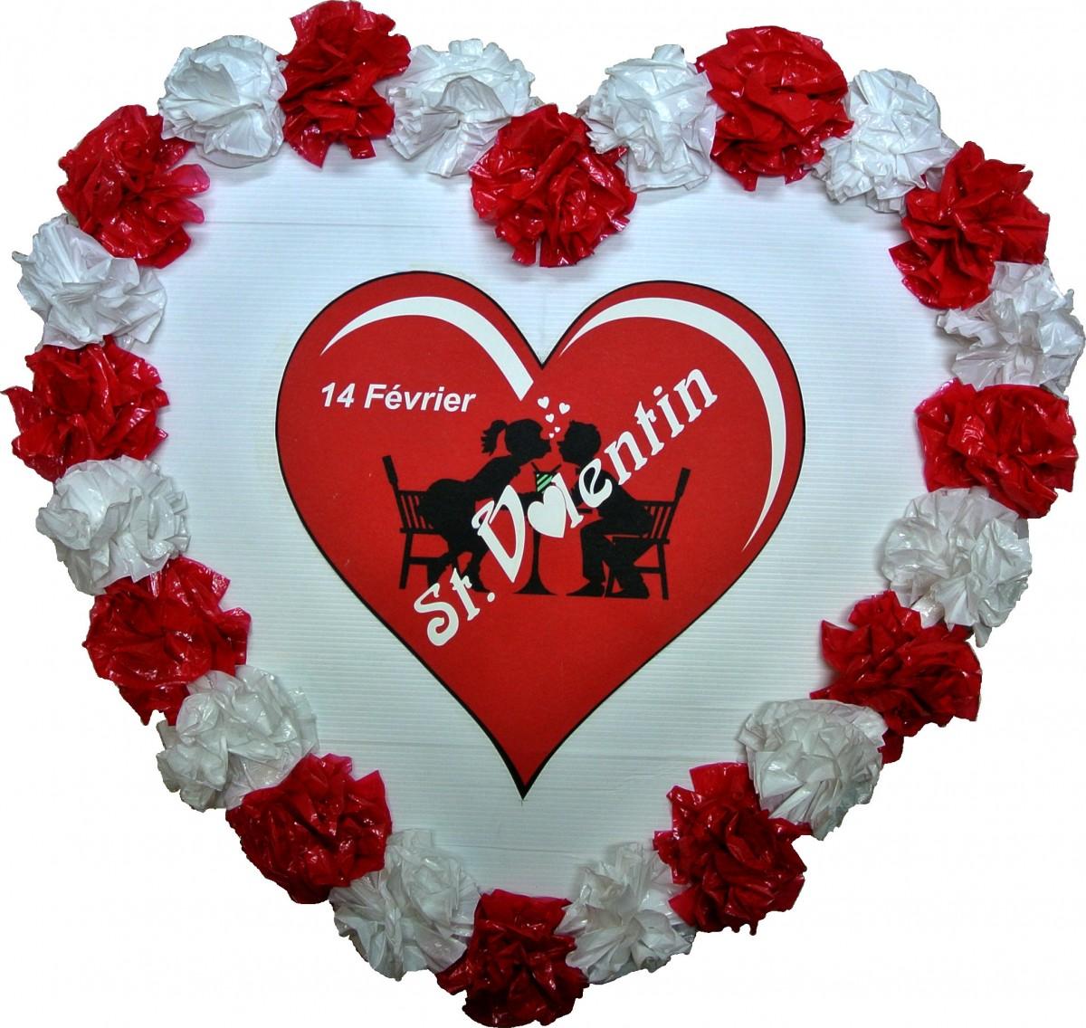 coeur akylux décoré st-valentin 61 cm – atouts imprim