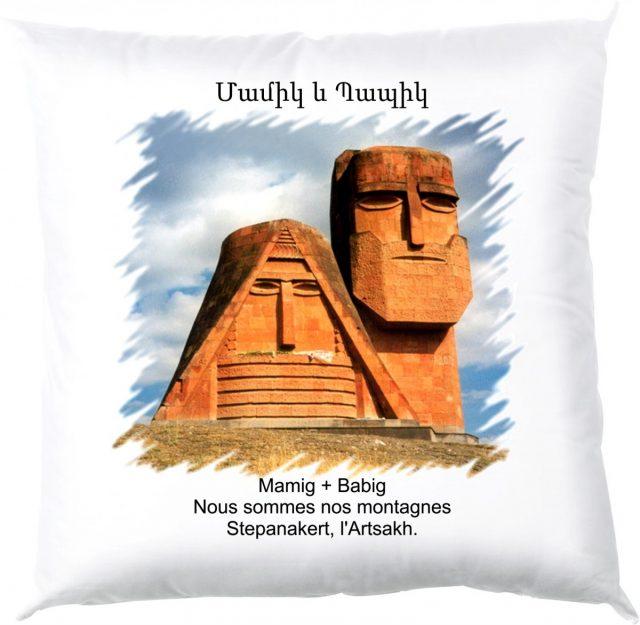Coussin Mamig Babig en Arménie
