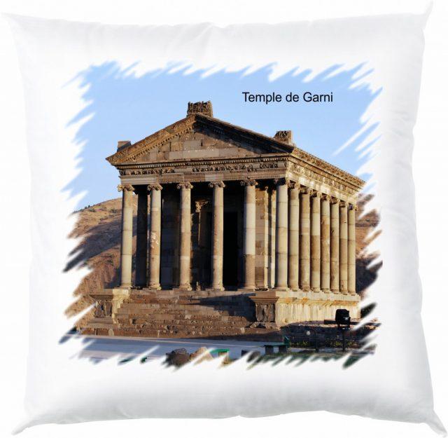 Coussin Temple de Garni en Arménie