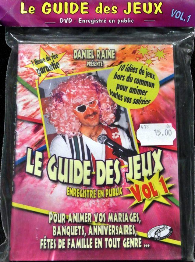 DVD Guide des jeux