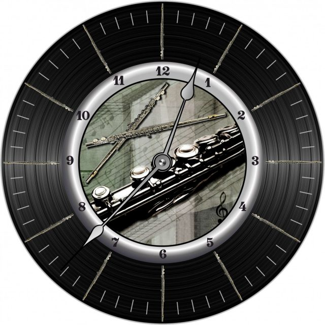 Horloge Flûte Traversière