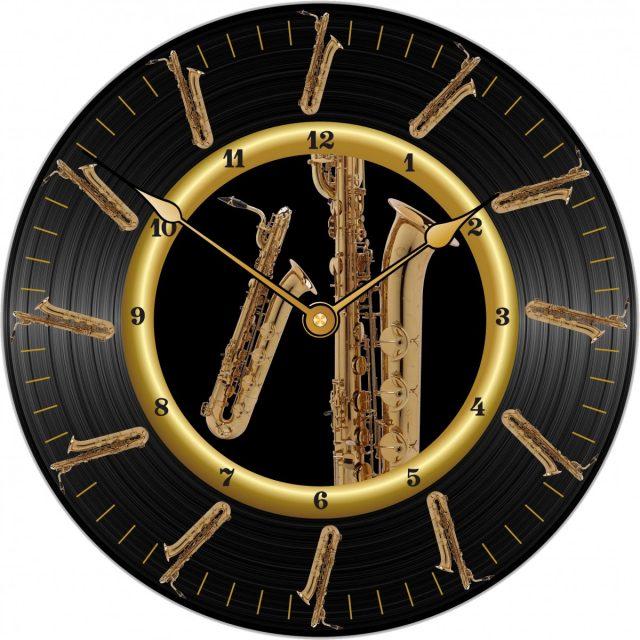 Horloge Sax Baryton Ø 290 mm