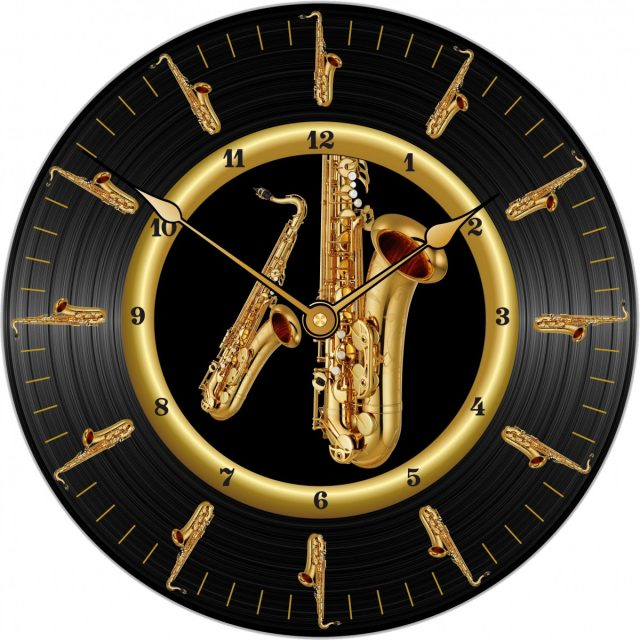 Horloge Sax Ténor Ø 290 mm