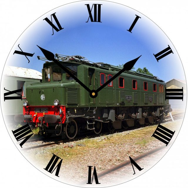 Horloges trains électrique 2D2 5525