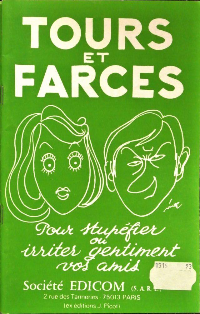 Livret Tours et Farces