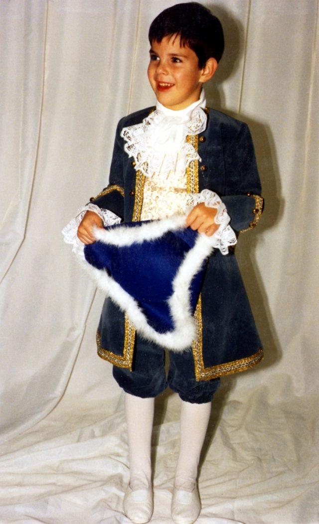 Marquis enfant luxe bleu
