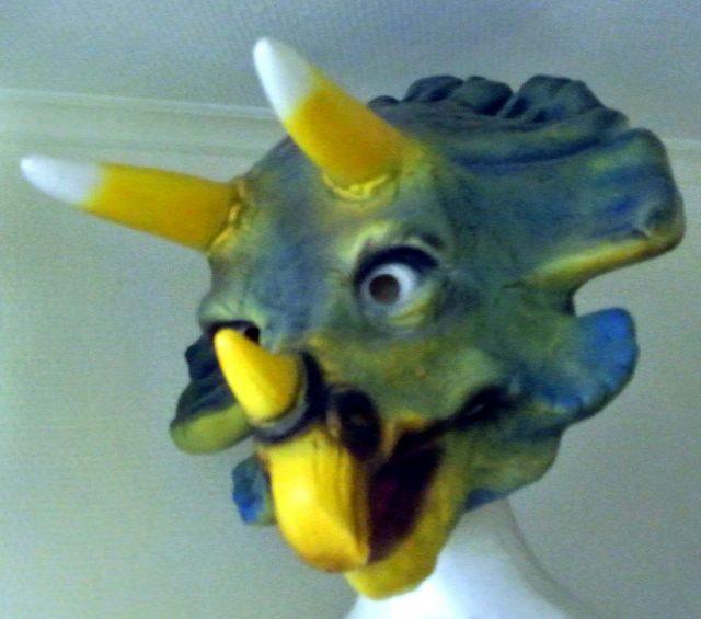 Masque souple Tricératop Adulte
