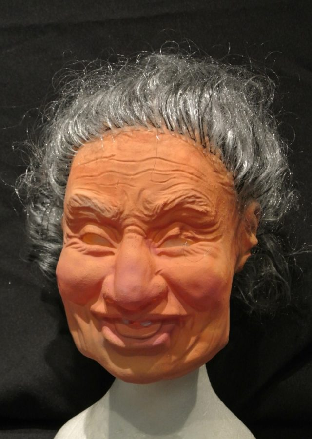 Masque souple Vieille Mexicaine