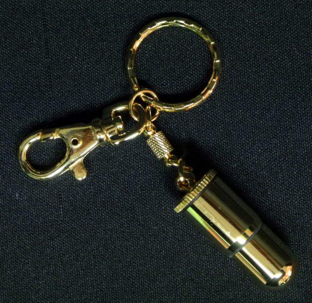 Porte clés brique essence Balle Pistolet