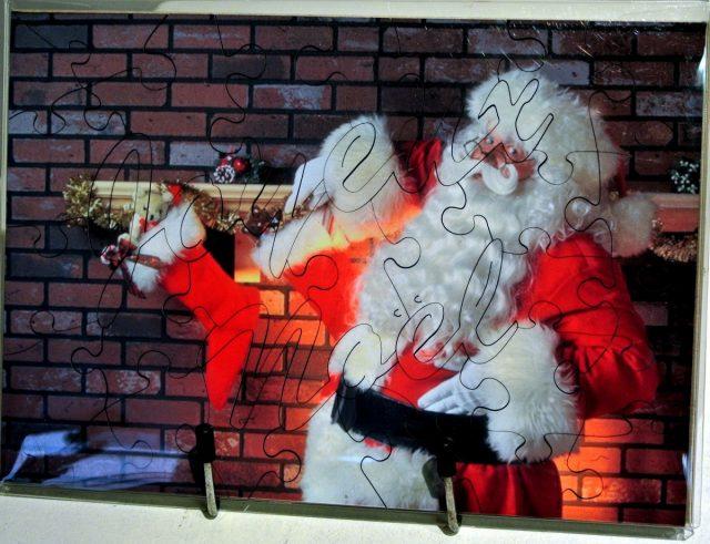 Puzzle Joyeux Noël personnalisable