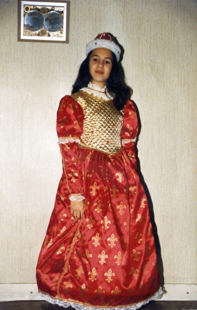 Reine Lys 8-10 ans