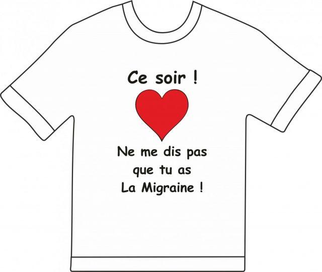 T-shirt Ce soir ne me dit pas