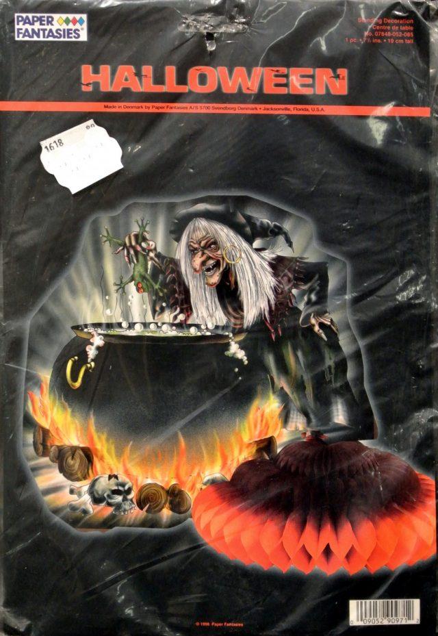 Halloween Alvéolé Déco de table Sorcière