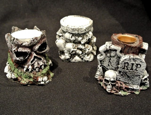 Halloween Bougeoirs Assortiment