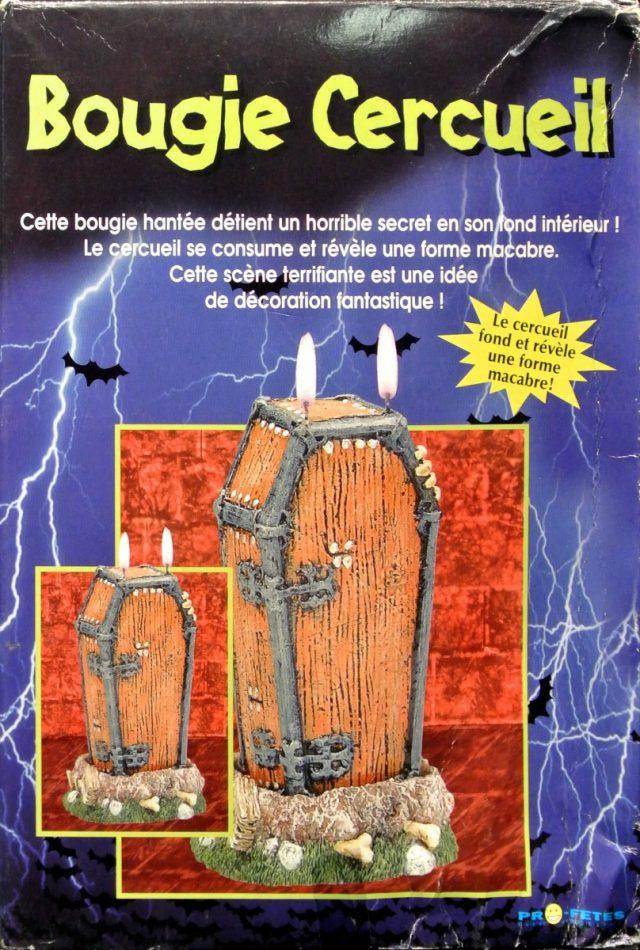 Halloween Bougie Cercueil