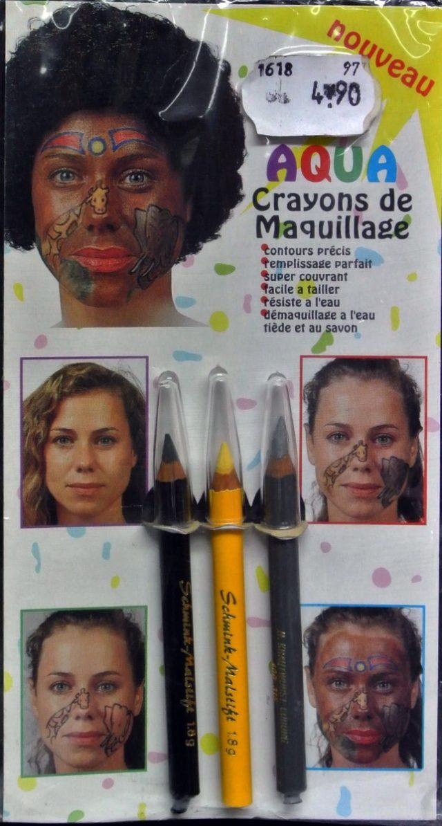 maquillage à l'eau