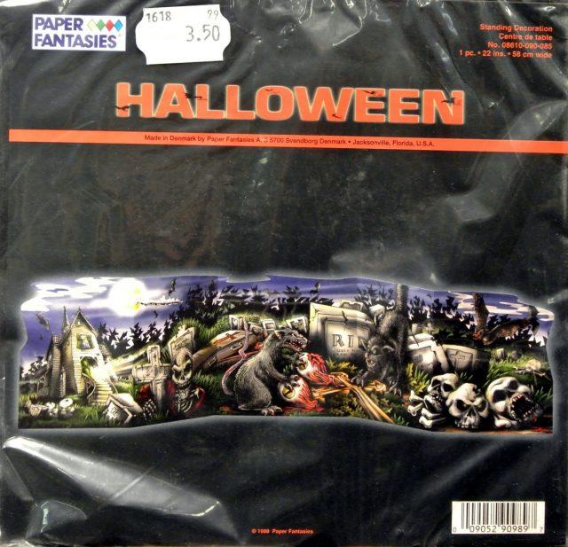 Halloween Centre de table déco cimetière