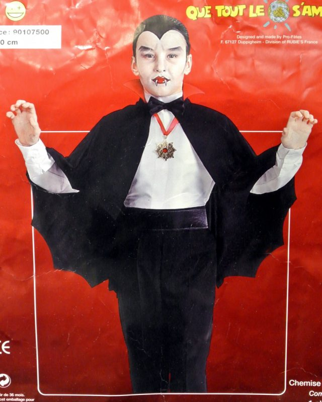 Halloween Chemise Dracula enfant