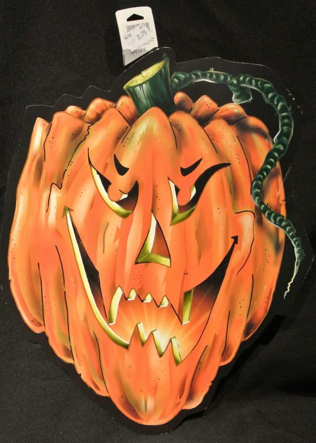 Halloween Cut-Out Citrouille