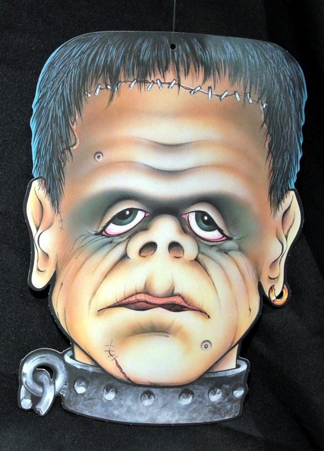 Halloween Cut-Out Frankenstein