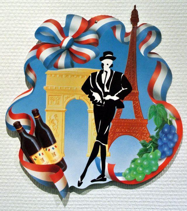 Vins de France Cut-Out Paris