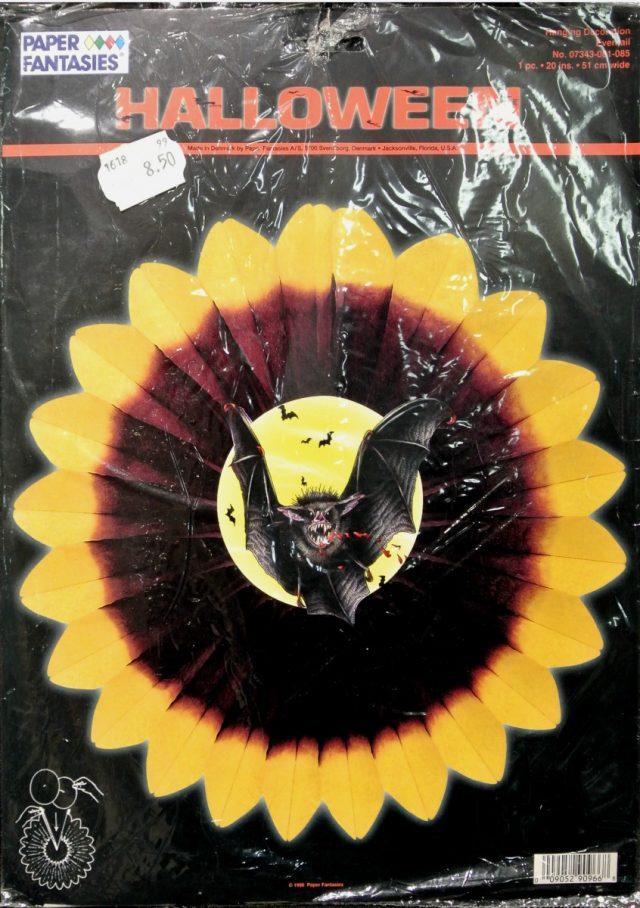 Halloween Eventail Chauve-souris 51 cm
