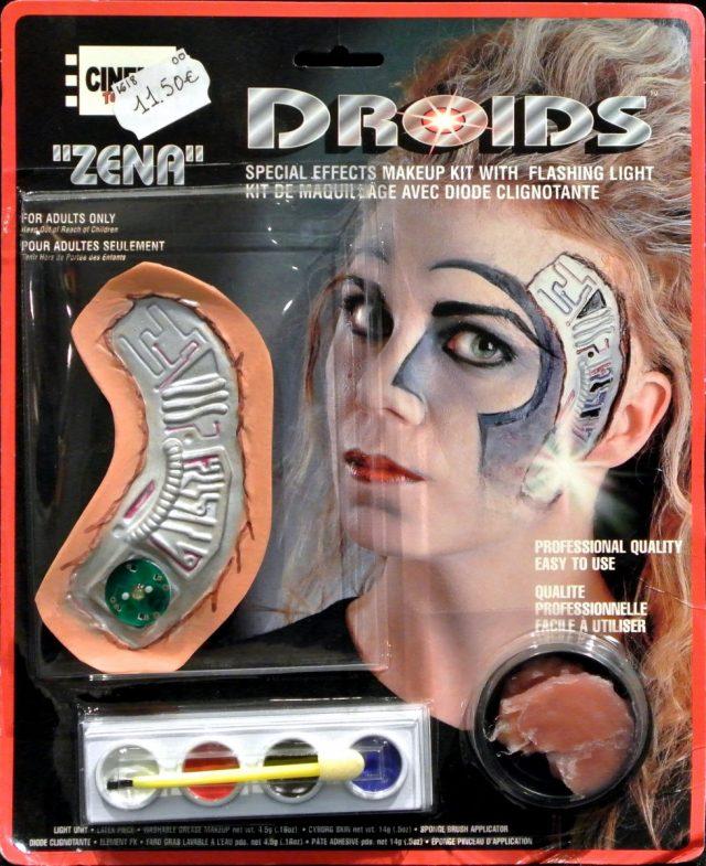 Halloween Kit maquillage Droïds femme