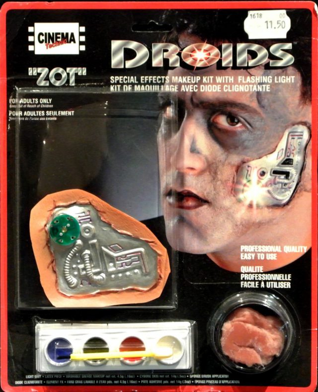 Halloween Kit maquillage Droïds homme