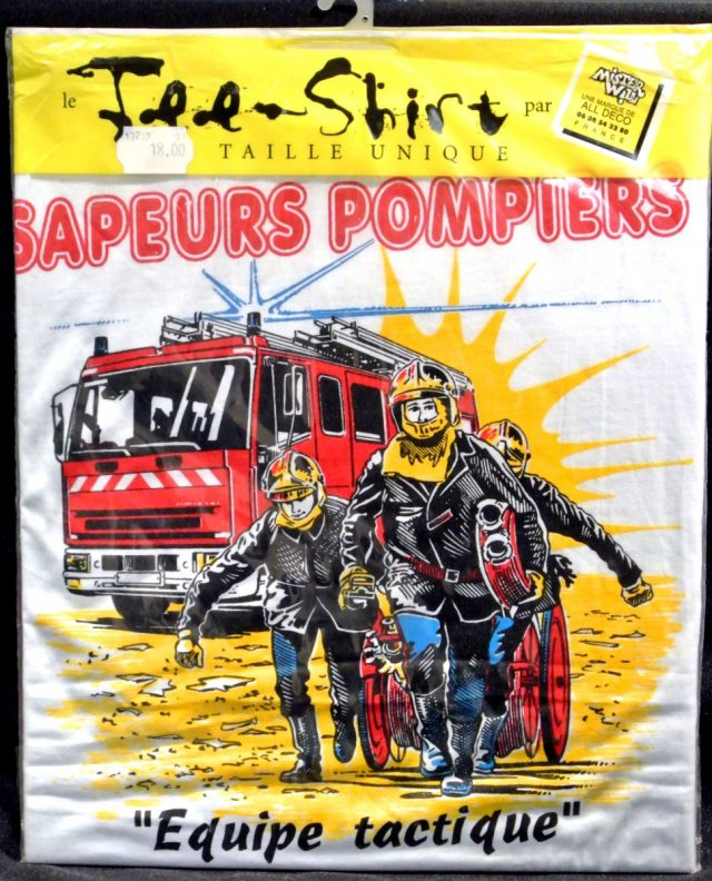 Tee-shirt Pompiers