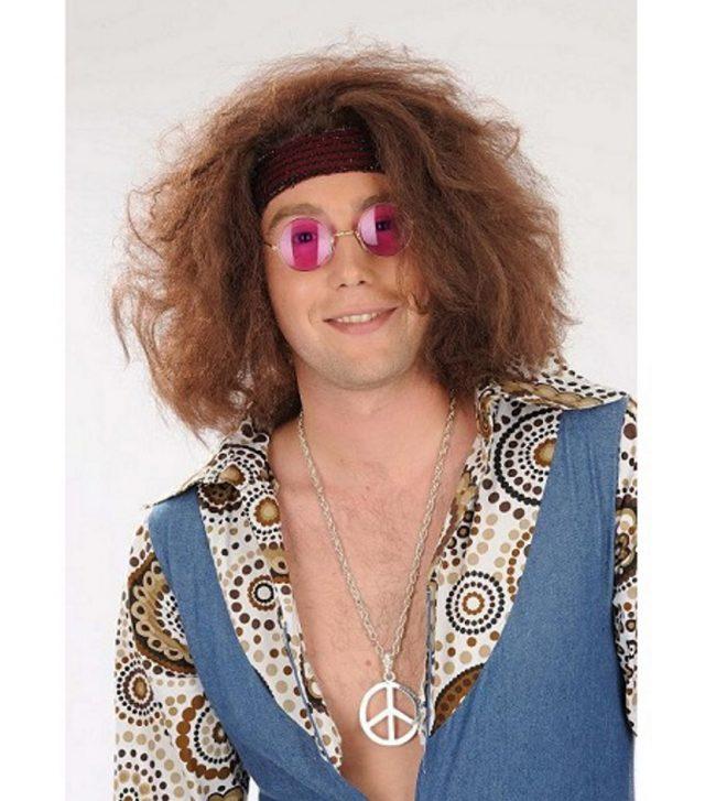 Perruque Hippie bandeau