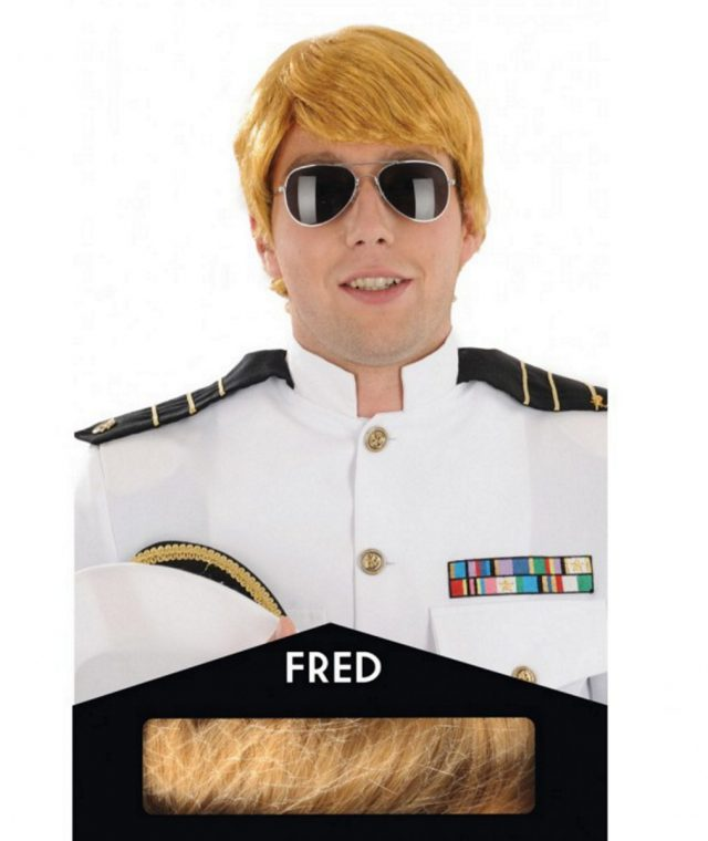 Perruque Fred Blonde