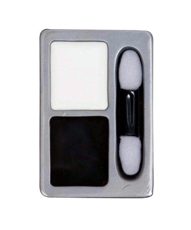 Fond de teint blanc et noir