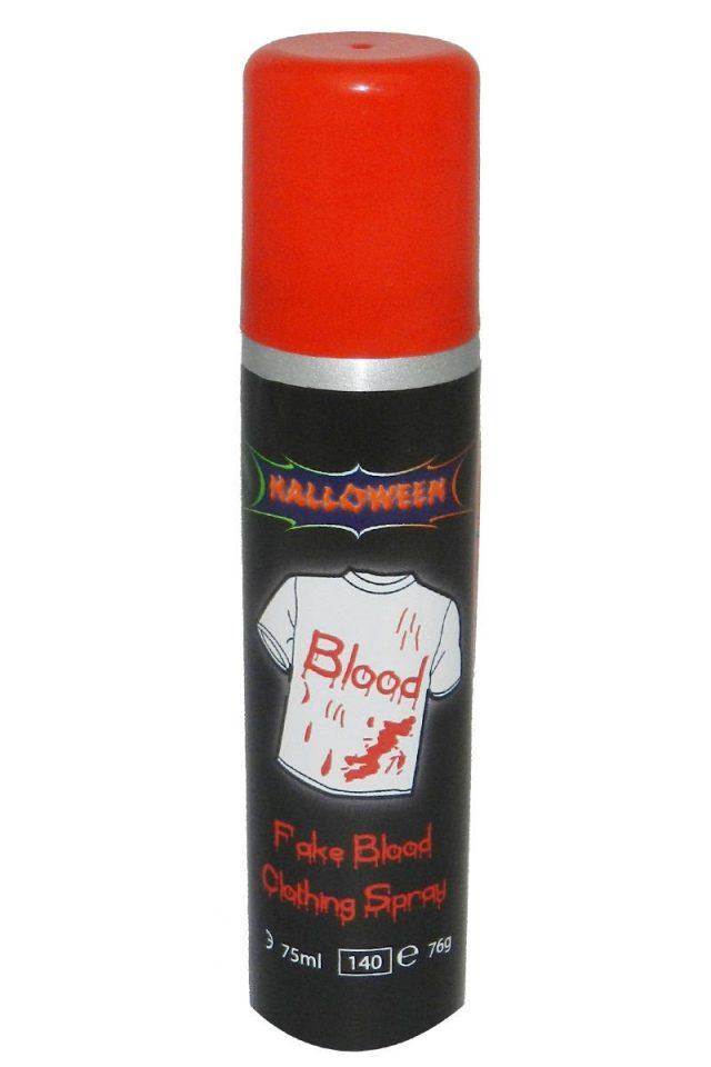 Faux sang en spray pour textile