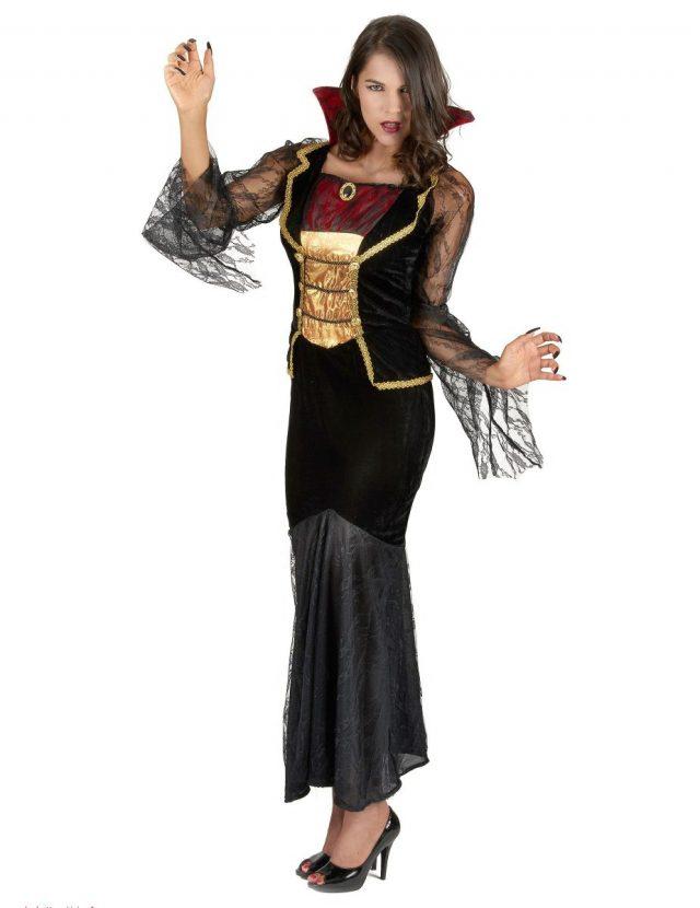 Déguisement comtesse vampire femme Halloween 8614e292fab
