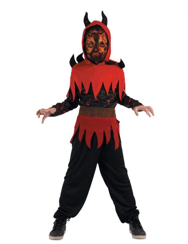 Déguisement démon du feu garçon