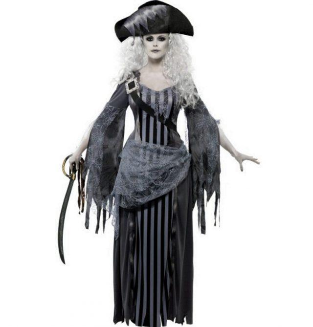 Déguisement fantôme pirate femme
