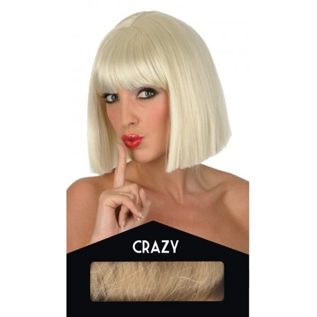 Perruque Crazy Blonde