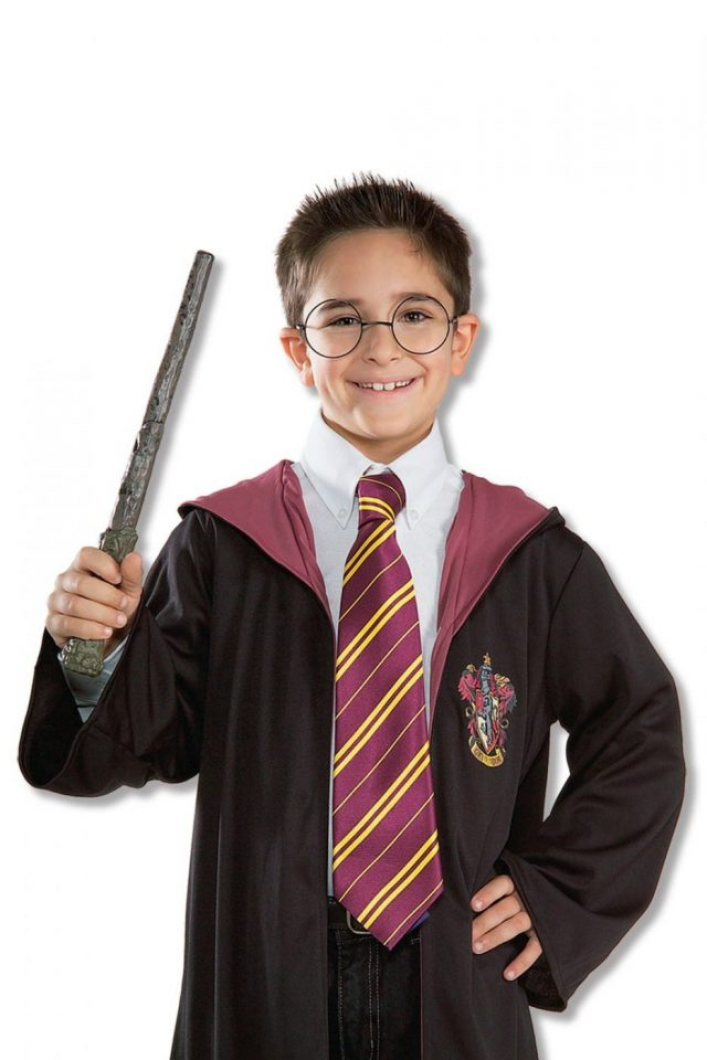 Cravate sorcier Harry Potter
