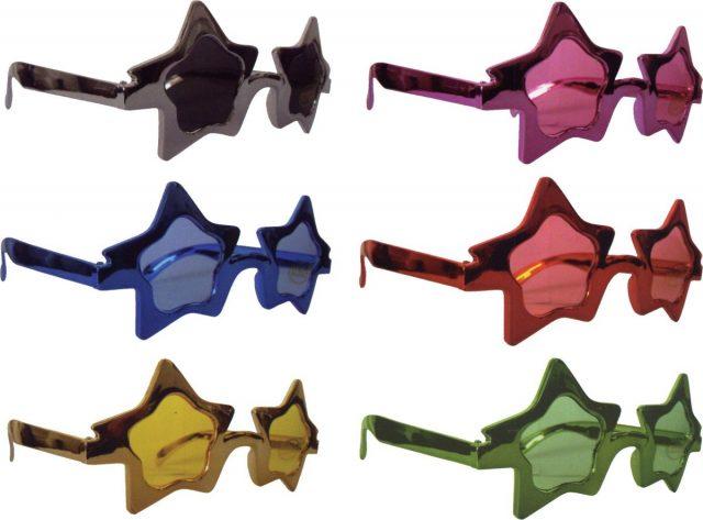 Lunettes Disco étoiles