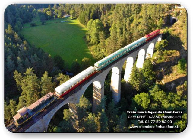 Tapis de souris Train touristique du Haut-Forez