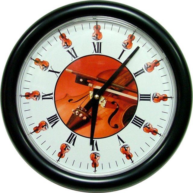 Horloge Violon Ø 250 mm