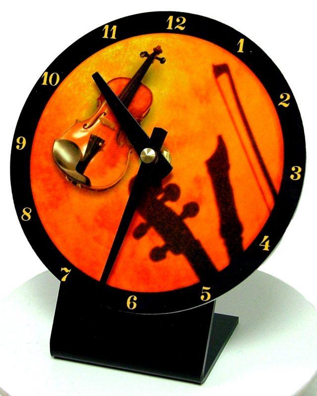 Horloge bureau Violon 2