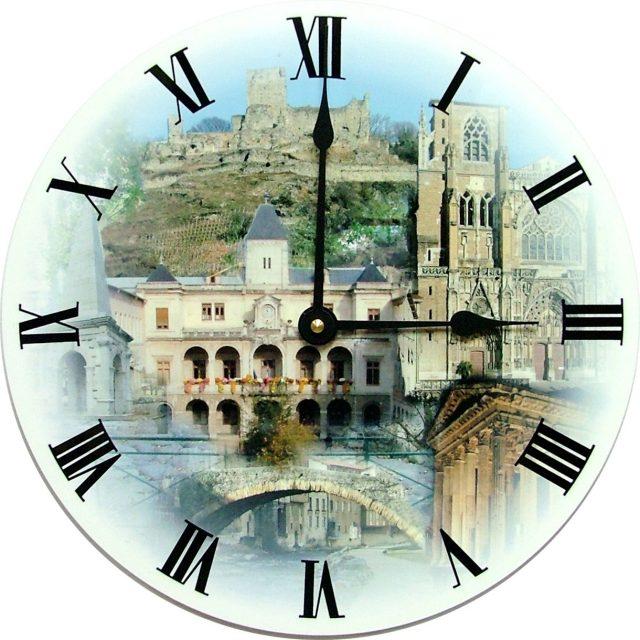 Horloge murale Ø 29 cm