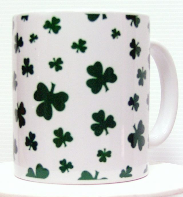 Mug St-Patrick Trèfles